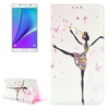 wholesale cell phone case Leather phone cover for note 5 cell phone accessory