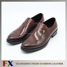 China wholesale high quality Special latest design color of shoes men made in China/ New design genuine leather shoes men