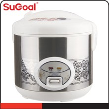 Small Kitchen Appliance Industrial Electric Rice Cooker with Plastic Food Steamer