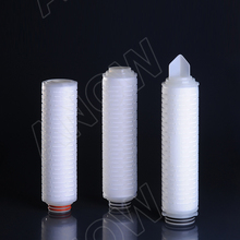Wine and Beverage Filtration Suitable 0.22 Micro Nylon Absolute Rated Pleated Filter Cartridge