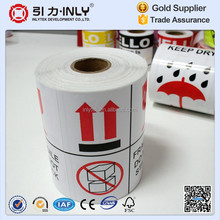 Glossy Art Paper Waterproof Drop Shipping Sticker/Care Label Printer