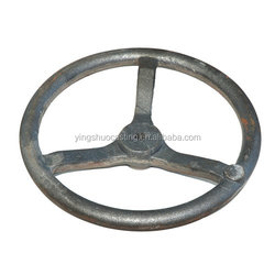 all kinds of gray iron cast hand wheel for valves or tractors
