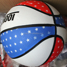 High quality OEM promotion deep seam rubber basketball