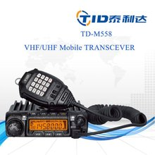 Td-m558 long range 60w vhf/uhf transceiver 5w 477mhz radios mobile walkie talkie