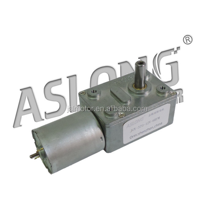 Professional Supplier 24v Dc Worm Gear Motor Of Miniature Electrical Motor With Gearbox Dc