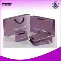 guangzhou packing paper bags for retail