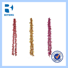 holiday decoration /2014 the most popular colorful Christmas Tinsel for Decoration Party/Christmas/Easter