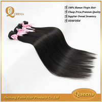wholesale price 8-30 inches natural color silky straight grade 5a unprocessed peruvian virgin hair
