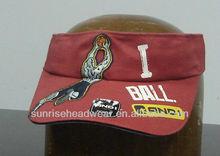 custom sun visor cap embroidered