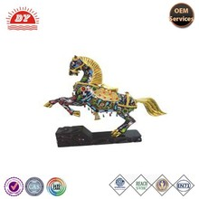wholesale cheap resin horse ornaments crafts from China factory