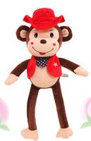 2015 new design stuffed party decoration monkey custom plush toy