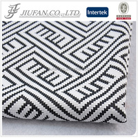 Jiufan Textile Hot Sold Polyester Spandex Jacquard Knit Fabric for Suiting