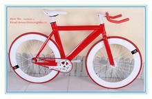 700c full aluminum fixed gear road bicycle