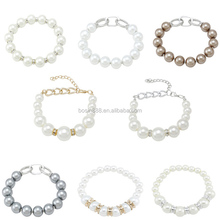 Top sale Custom bead bracelet,charm pearl bracelet jewelry Wholesale