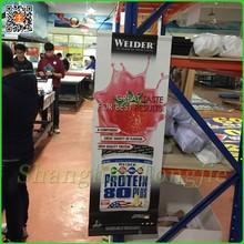 UV printing vinyl hanging promotional banner