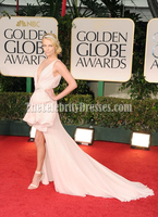 Celebrity InspiredCharlize Theron 2012 Golden Globes Awards Red Carpet Gown Sexy Fashion New Dress