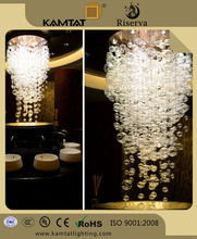 bead shape series connection crystal glass chandelier