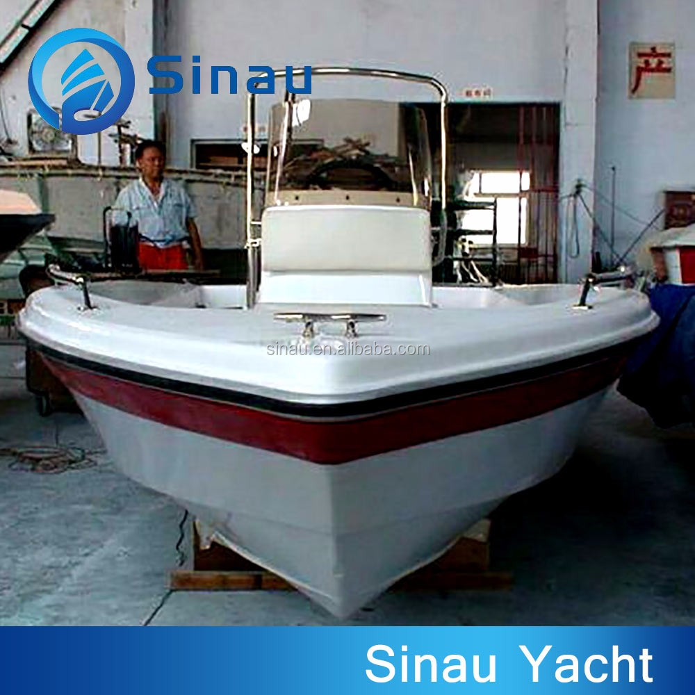 4 8 m small white frp fishing outboard motor boat for sale for Fishing boat motor