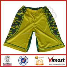 dye sublimation camo basketball shorts/custom logo/number ect