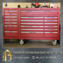 China factory manufacturing customized 72 inch 15 drawer stainless steel tool chest , tool cabinets , tool box