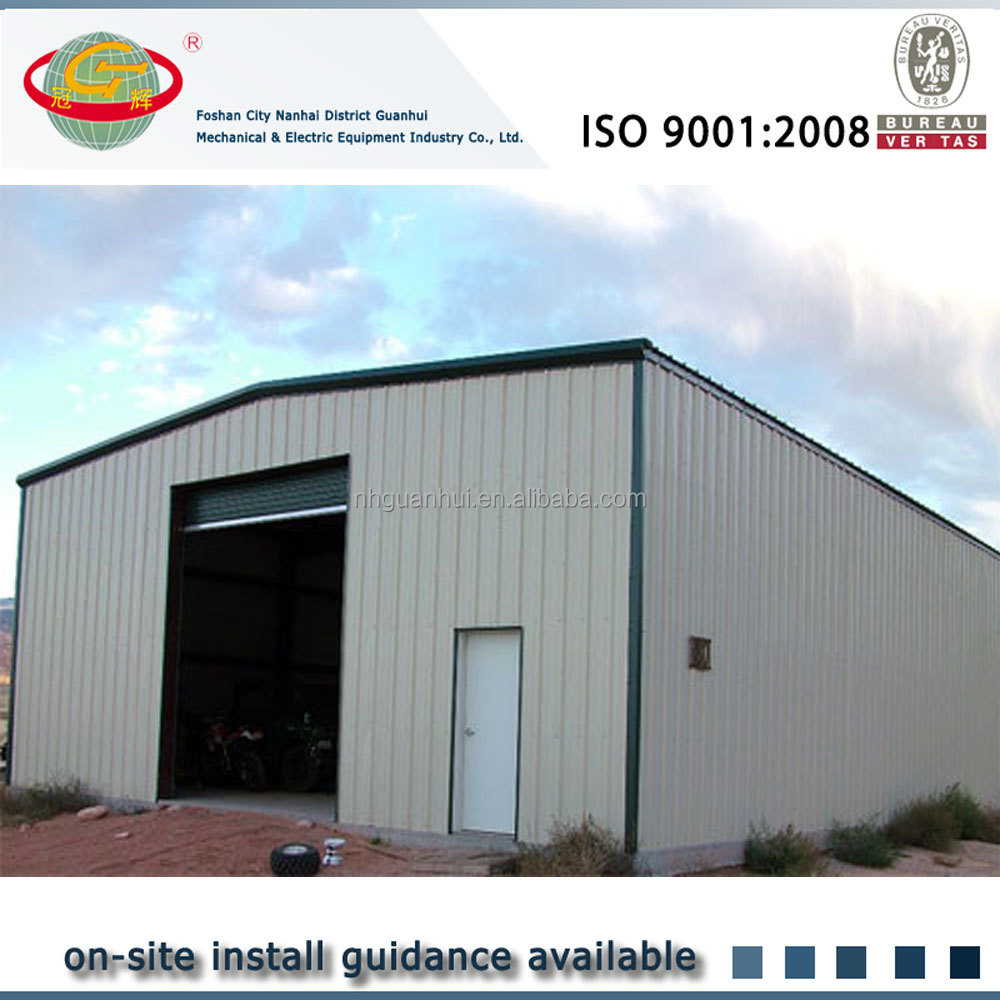 Flexible Metal Building : Flexible designed gable symmertrical industrial metal