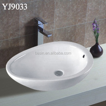 YJ9033A/B Countertop Ceramic Washbasin Cabinet in New Design