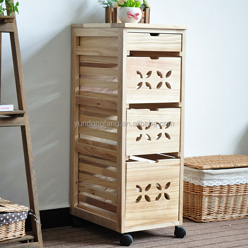 wood kitchen furniture cheap cupboard with casters buy