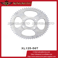 XL125 56T Rear and front motorcycle chain sprocket