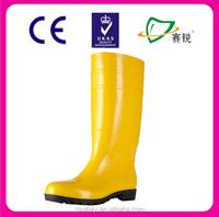 2015 Fashion Sex Long Gumboots Gumshoes Rain Rubber Boots