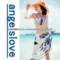 Fashion Blue and white porcelain beach cover A13020