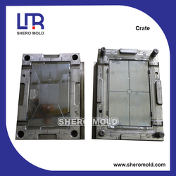 crate covers plastic injection mold