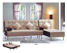 sofa beds relaxing sofas, PU sofa bed, sectional sofa bed 528#