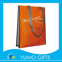 promotional eco friendly laminated non woven bag