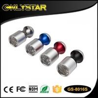Onlystar GS-8016S keychain uv aluminum led torch light mini flashlight pocket uv light torch