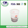 hot sale fancy disposable coffee cups with lid corn starch based