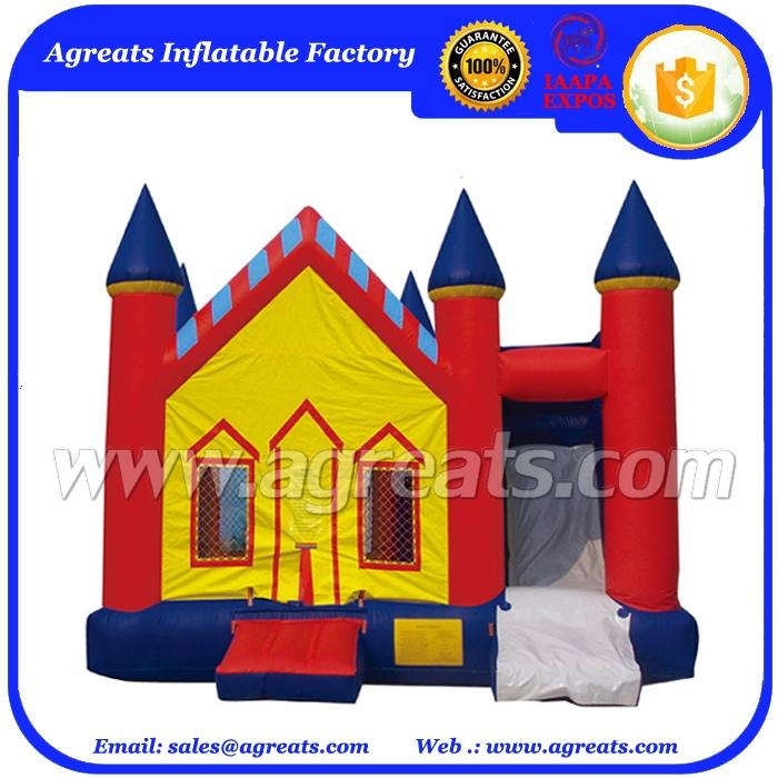 Đỏ inflatable thư bị trả lại house castle combo, thương mại inflatable combo cần bán G3033