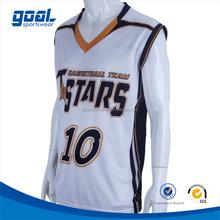 Sublimation wholesale custom sports basketball jerseys new model