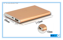 Fast charging mobile battery for xiaomi usb charger power bank 5000-8000mah