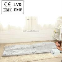 Low voltage 3 ozone dome body fit Far Infrared detox sauna blanket