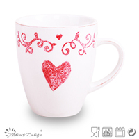 Silk screen printing mug dinnerwares from China supplier