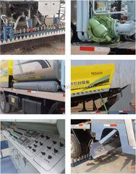 fiber asphalt chip three materials sealling machinery for sales