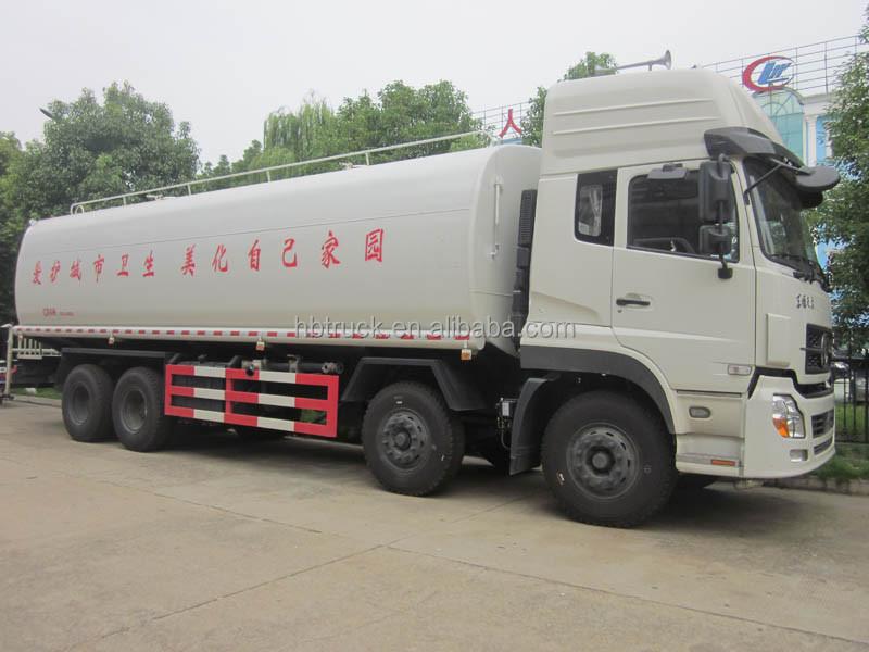 8 4 dongfeng cami n 30000l agua cami n de riego for Silenciador cisterna