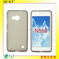 Free Sample Soft TPU Pudding Case Phone Cover for Nokia N550