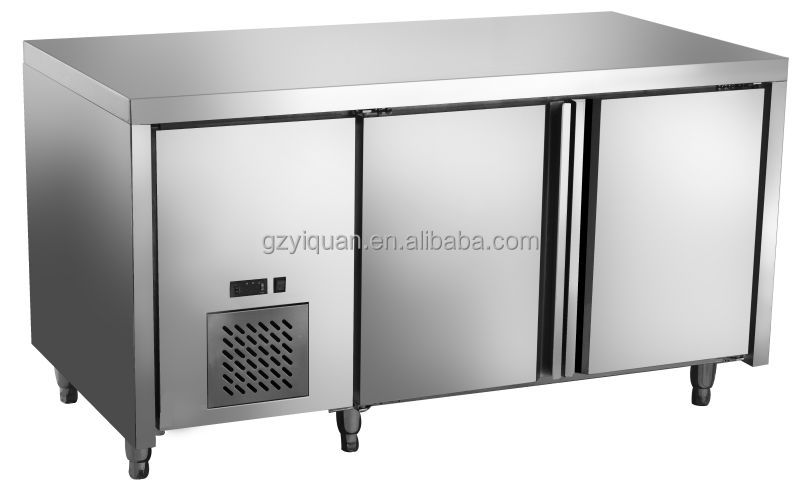 Commercial Pizza Freezer Pizza Work Table Pizza Prep Table - Cold prep table for sale