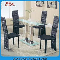2015 modern stainless steel dining table legs