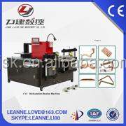 Nice cut turrent punching CNC hydraulic copper bus bar cutting punching bending machine 50ton