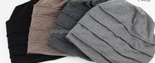 Spring knitting fashion hat Man wet turban hat man In the spring and autumn cold summer scarf baotou cap cap nightcap