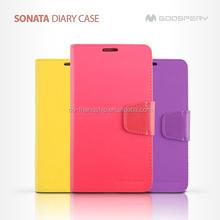 mercury goospery SONATA diary leather wallet case for Nokia Lumia 1520