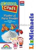 750G craft plaster of paris/ gypsum powder/plaster of the paris powder