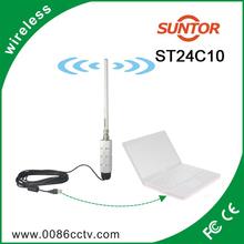 PTMP OFDM USB 2.4ghz Portable mini wireless AV transmitter receiver